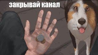 ▼Приключения бездомного с собакой