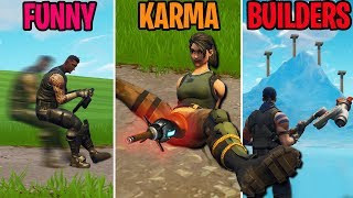 INVISIBLE ATK?! FUNNY vs KARMA vs BUILDERS - Fortnite Battle Royale Funny Moments