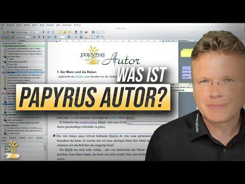 Was ist Papyrus Autor? Einstieg in das Schreibprogramm für Schriftsteller [Papyrus Autor Tutorial 1]