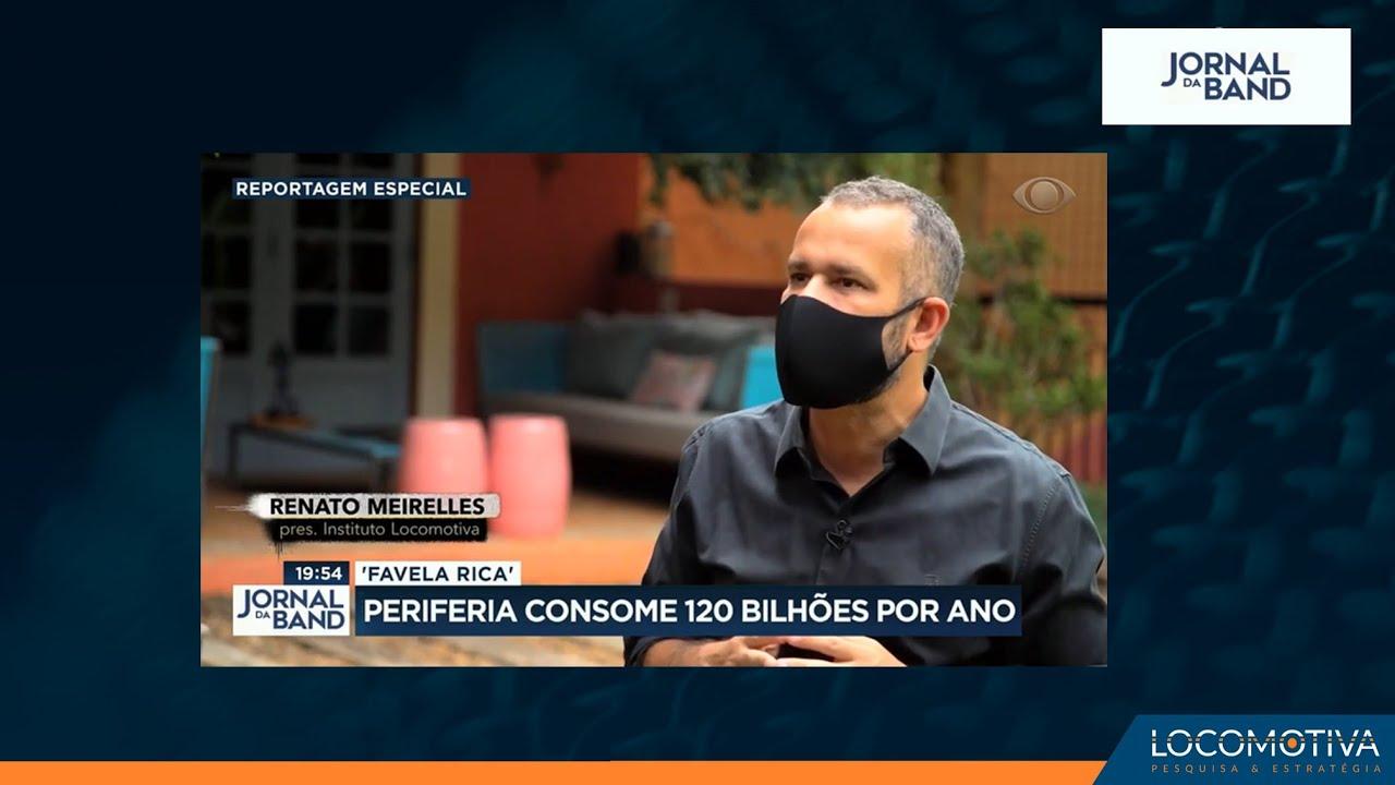 JORNAL DA BAND: Periferia consome R$ 120 bilhões por ano
