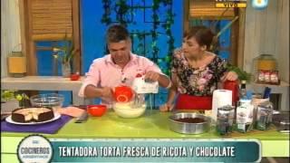 Torta de ricota y chocolate