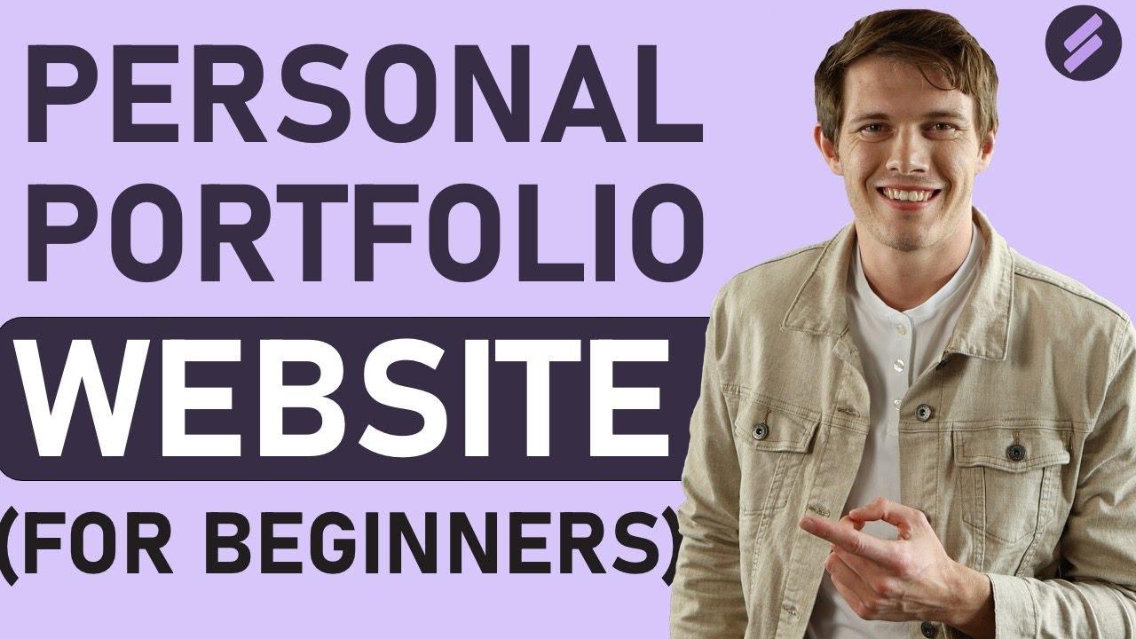 How to Make a Personal Portfolio | Online Portfolio Quick Tutorial