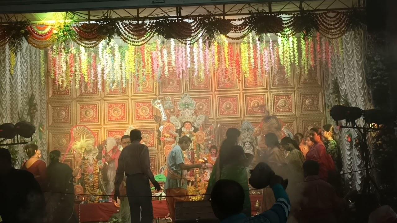 Prabashi durga pujo. Durga pujo in Gujarat, Bharuch