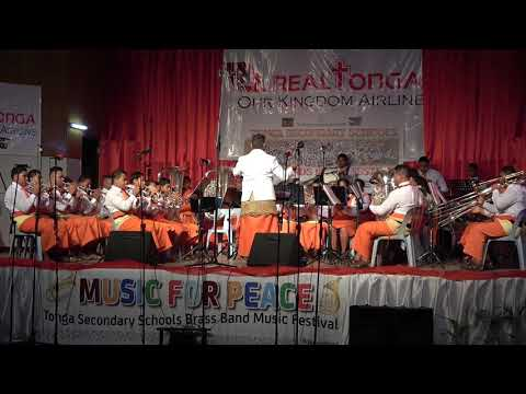 Group 2 - Tonga Secondary Schools Brass Band Festival - Music for Peace