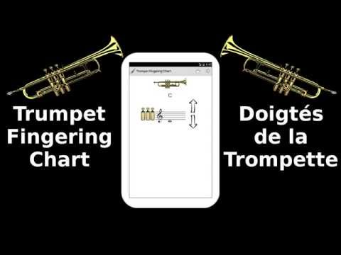 Trumpet Fingering Chart Free  Android Apps On Google Play