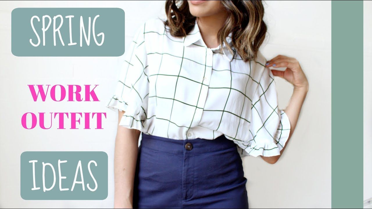 SPRING WORK OUTFIT IDEAS 3