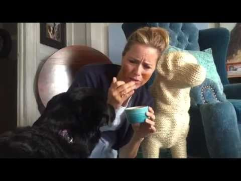 Téa Leoni accepts the LickMyFace Challenge!