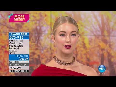 HSN | Jewelry Gifts Under $50 featuring Stately Steel 10.02.2017 - 02 PM