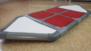 Cómo construir un barco de PVC de tubo