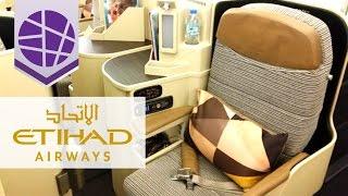 ETIHAD AIRWAYS Business Class B777-300 | Manila - Abu Dhabi, Round-Trip | EL