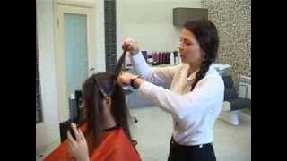 видео Свадебные прически с ободком из цветов и камней на средние волосы