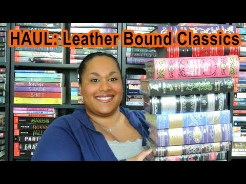 BOOK HAUL: B&N Leather Bound Classics (Beautiful Covers!)
