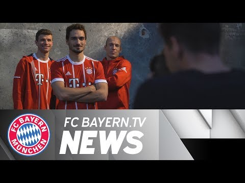 New home jersey for Bayern Munich
