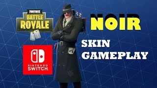 "Gameplay de la peau ""NOIR"" Fortnite Battle Royale - France Nintendo Switch (en)"