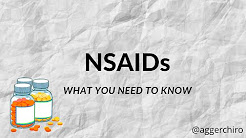 What You Need to Know About Anti-Inflammatory Drugs (NSAIDS)