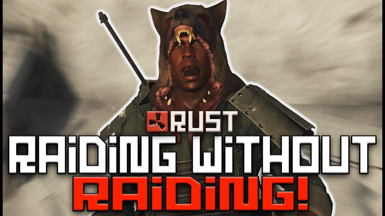 Rust Raiding Without Raiding Going Shallow Episode 2
