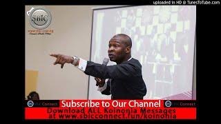 Commanding Results-Koinonia with Apostle Joshua Selman Nimmak