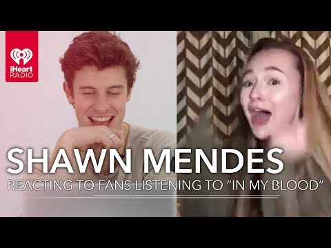 Shawn Mendes Reacts To Fans Hearing In My Blood For The First Time!