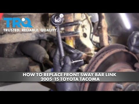 How To Replace Front Sway Bar Link 05-15 Toyota Tacoma