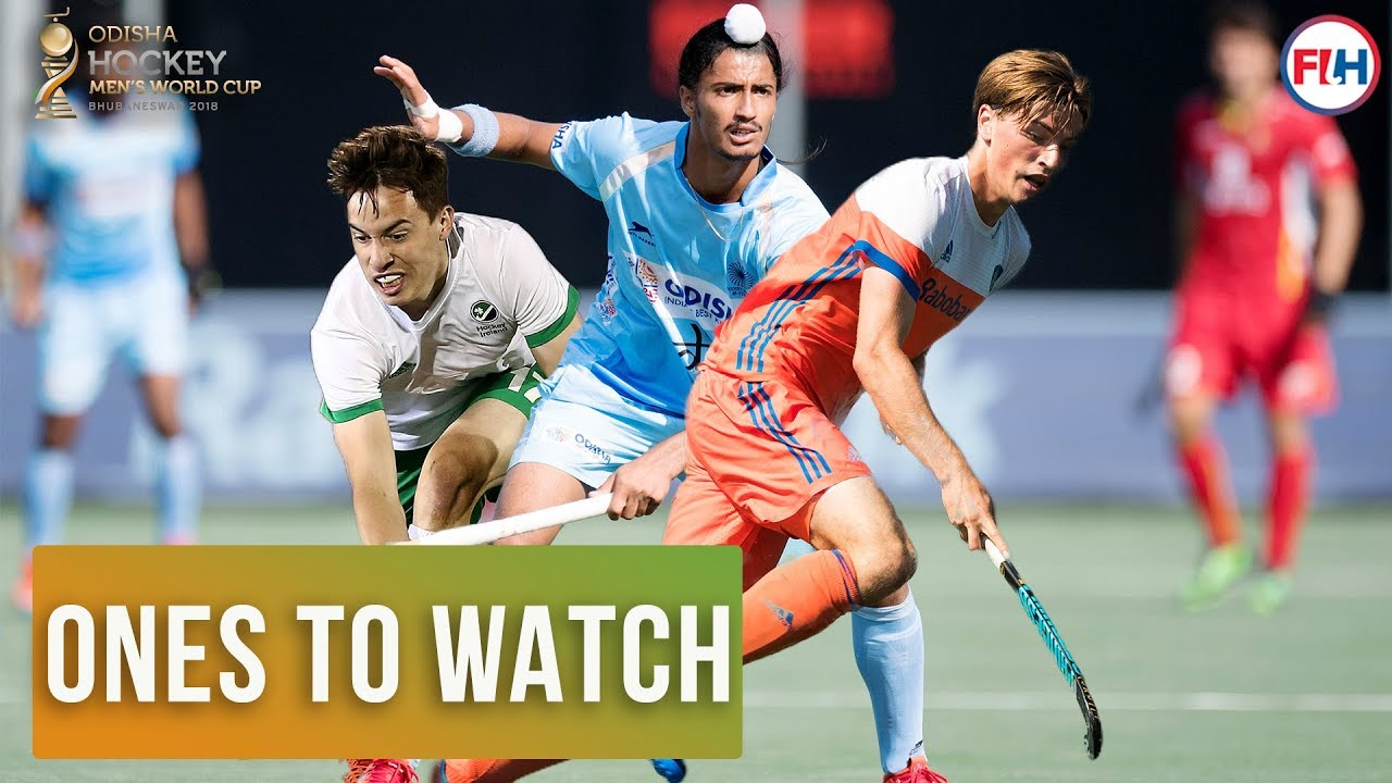 Ones To Watch | Men's Hockey World Cup 2018 | Part 2 - YouTube