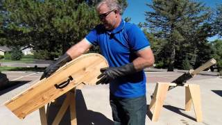 Toboggan - How to build a toboggan from A Z Part 1