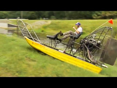 Owner Of Bryson S Airboat Tours