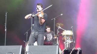 Seth Lakeman (& the brilliant Cormac Byrne) - Race To Be King (live) - Eden Sessions, 1 July 2012