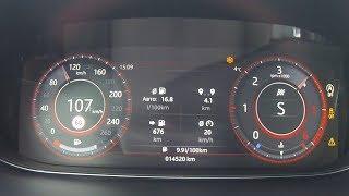 Jaguar E-Pace P240 D - значит дизель! Разгон 0-100