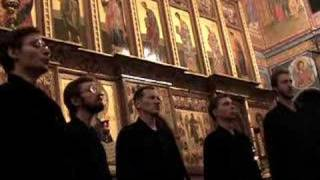 Valaam Choir, We Magnify Thee, Serbian Chant