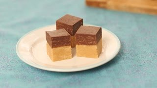 Quick Chocolate and Peanut Butter Fudge