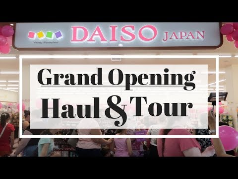 Daiso Haul And Shop Tour! || Australia's Newest Shop