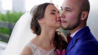 Видео свадьбы двух любящих сердец. Смотреть свадьбу 2015.
