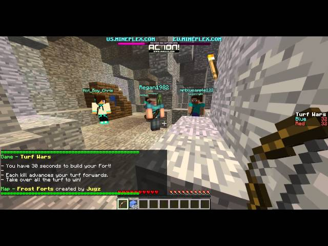 Minecraft | TurfWar | First Video Ever