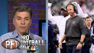 Are the Cowboys or Eagles in more trouble heading into Week 7? | Pro Football Talk | NBC Sports