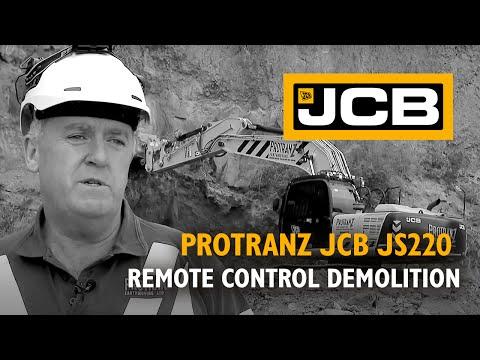 Protranz JCB JS220 Remote Control Demolition Excavator