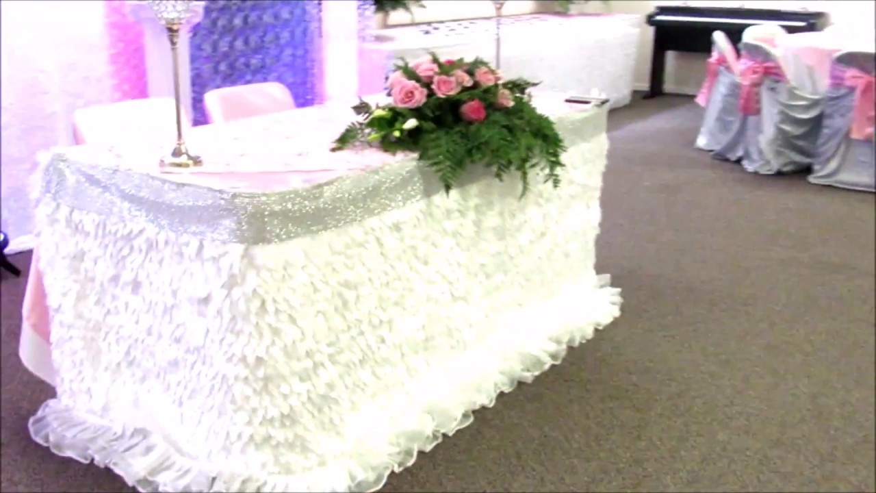 Faos events decoracion color rosa boda youtube - Decoraciones de salones de casa ...