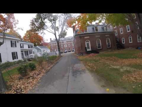 Phillips Exeter Academy Campus Fall Foliage Bike Tour - Exeter, New Hampshire - Seacoast Nation NH