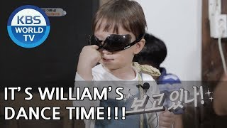 William's Dance Time! SO CUTE XD  [The Return of Superman/2018.06.17]