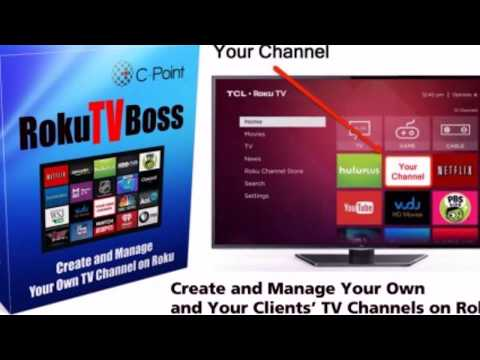 Roku TV Boss Agency - Create And Manage Your Own And Your Clients' TV Channels On Roku. http://bit.ly/2PlLNR0