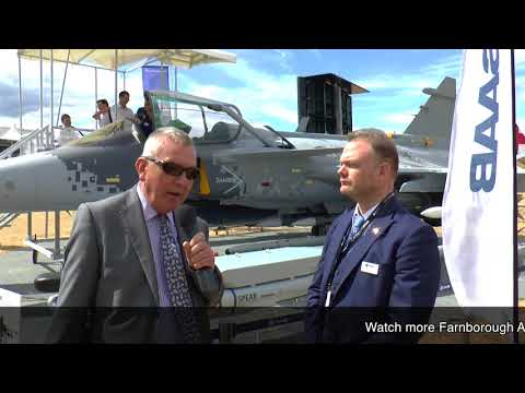 Farnborough 2018: Saab Gripen E