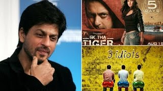 10 Super Hits Movies Rejected By Shah Rukh Khan, But Why!