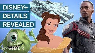 Disney+ Streaming Service Details Finally Revealed