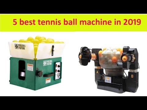 5 best tennis ball machine in 2019