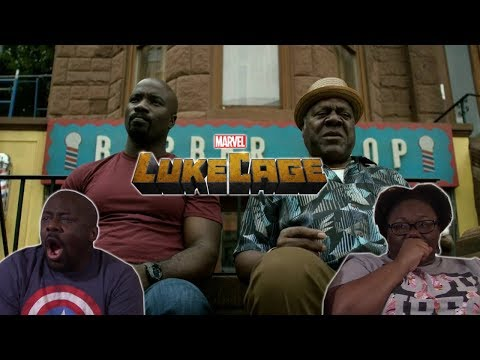 Luke Cage 1x2 REACTION!! {Code of the Streets}
