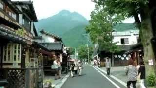 湯布院の湯の坪街道散策 Strolling along Yunotsubo Way in Yufuin
