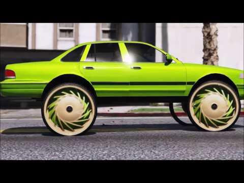 GTA 5 ShortFilms | Ford CrownVic On 32 inch DubWheel Floaters | Genius.of.GTA