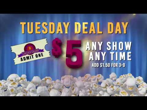Lincoln Grand/Tuesday Deal Day
