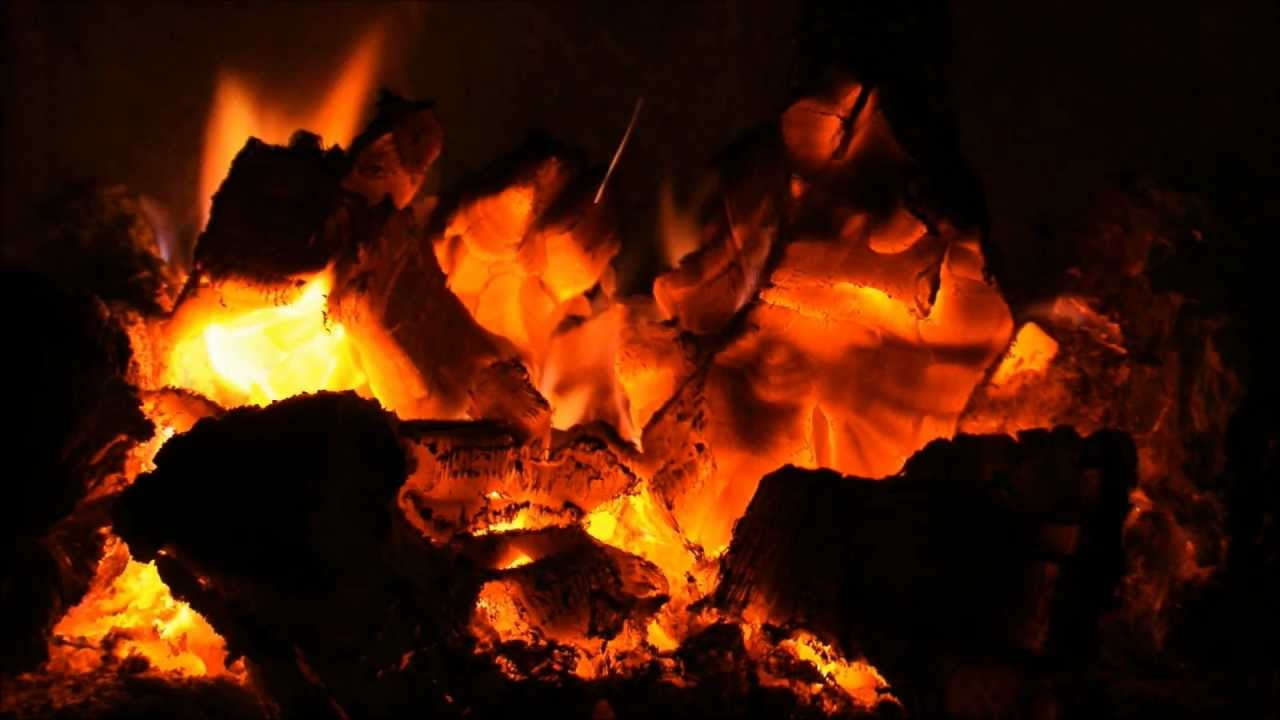 Full HD Fireplace with rainymood and Yiruma - YouTube