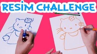 Ege ve Mira ile Çizim Yarışması | Hello Kitty ve Pikaçu | UmiKids