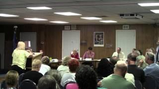 Flagler Beach TownHall Meeting 9-20-2011 Audience Question: P Carmel